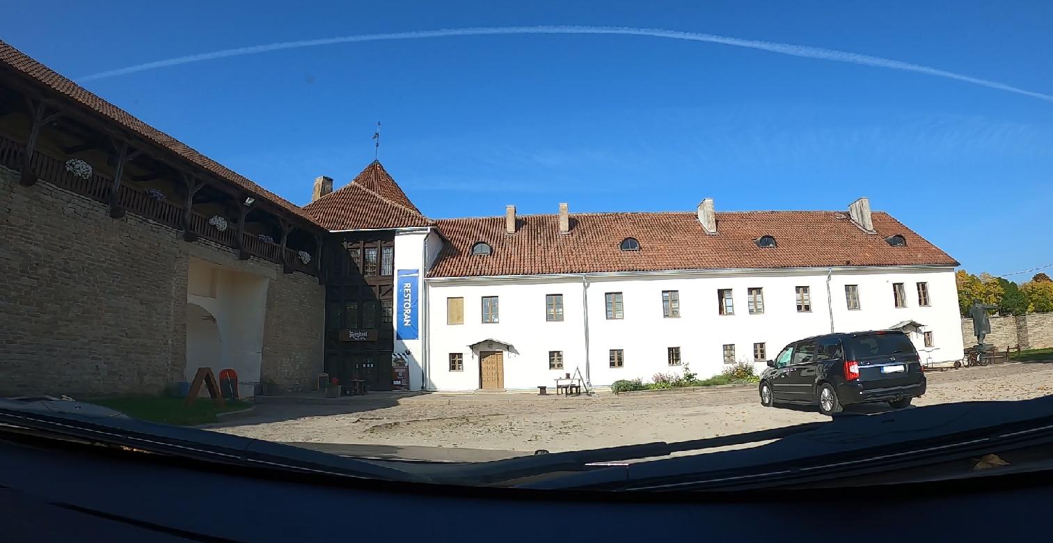 Autosõit Narva Linnusest Kreenholmi