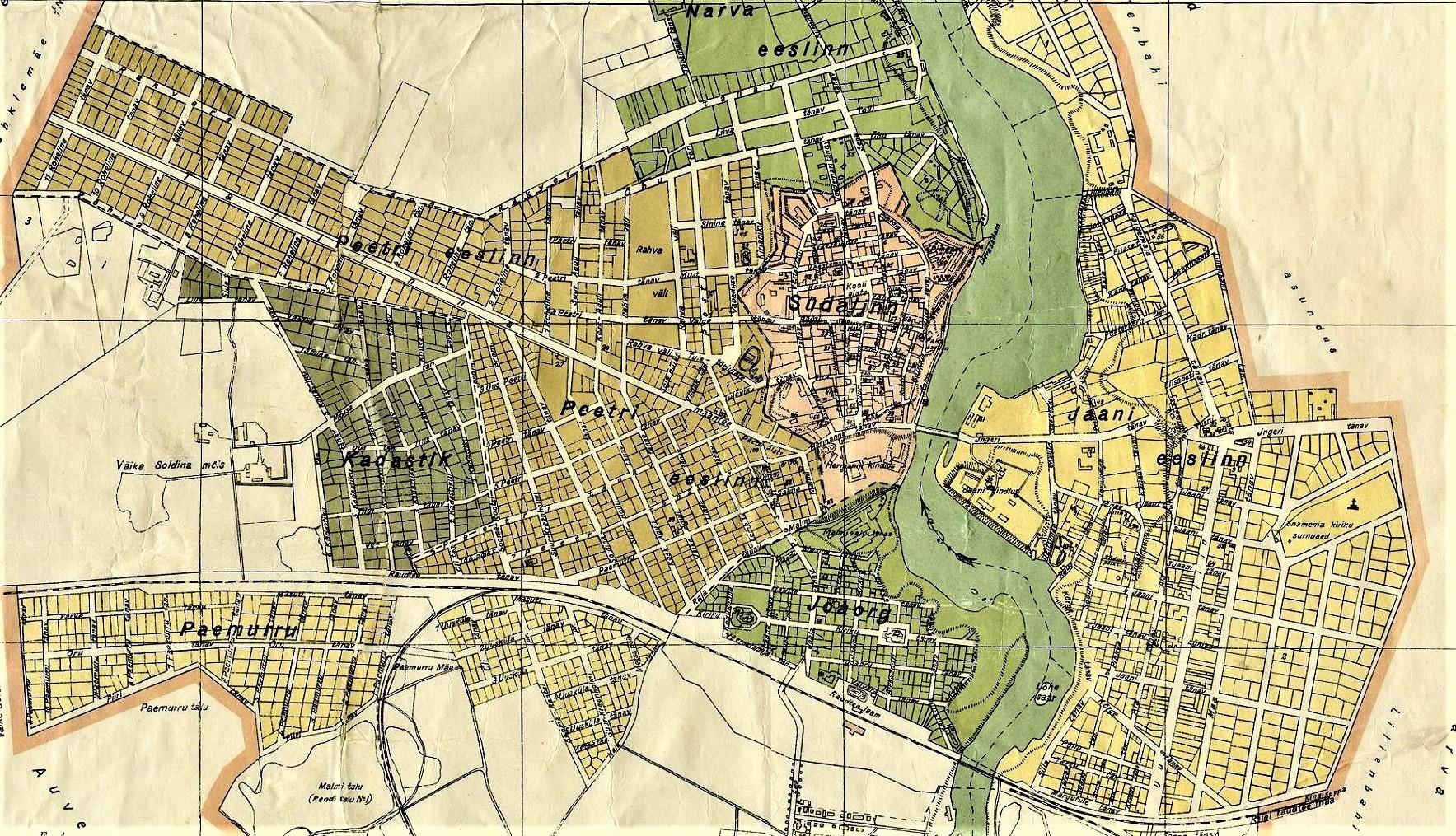 В субботу, 5 декабря в 12:00 Нарвский музей приглашает на пешеходную экскурсию по Старой Нарве