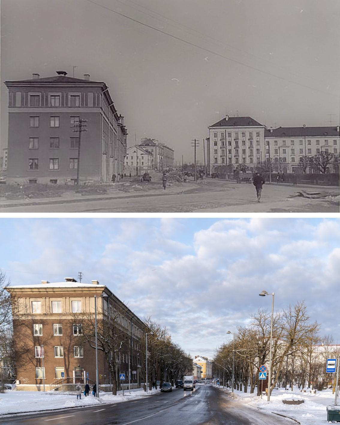 Улица Пушкина — одна из старейших и красивейших улиц Нарвы.